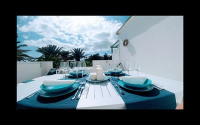 Photo for private terrace, sea view, well-kept and quiet complex