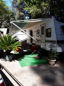 Photo for Cozy Trailer In The Redwoods
