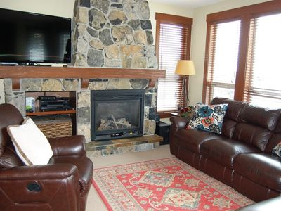 Photo for Slopeside Condo with Private Hot Tub! Gym + Shared Mineral Pool Access