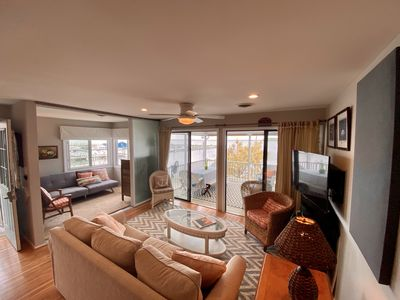Photo for 2 DAY MIN STAY REHOBOTH BAY / DEWEY BAY FRONT 3/4 BRD 2.5 BR PANORAMIC VIEW