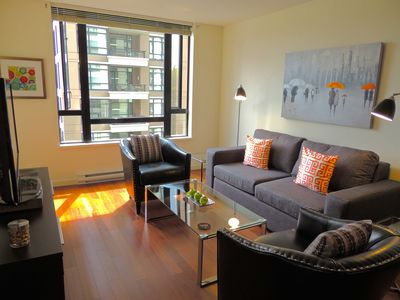 Photo for Downtown One Bedroom Plus Den - Two Blocks To Inner Harbour - 30 Night Minimum