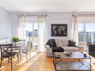 Photo for Urban Penthouse, large balconies & Acropolis view!