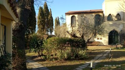 Photo for Lovely Studio in Tuscany countryside with garden and Pool near beaches