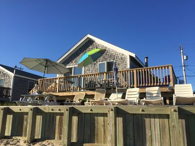 Relax and Enjoy!  On the deck or in the sand!