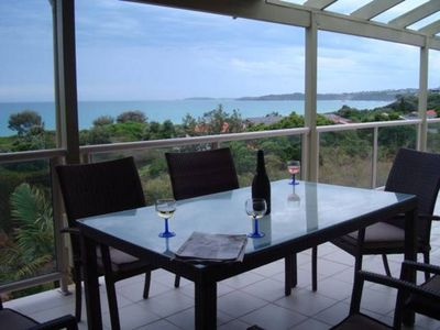 Photo for Waves at Warrawee Beach House Ocean Views