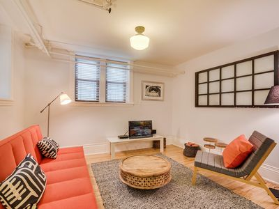 Photo for 2 Bedroom Urban Nest in Brick Brownstone