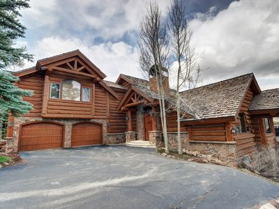 Photo for Great for Families! Updated Log Home in secluded Keystone Ranch neighborhood.
