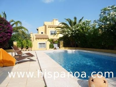 Photo for Beautiful villa with private pool in Altea
