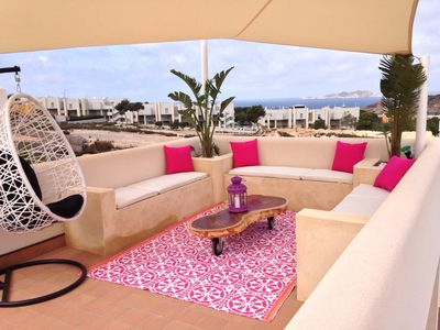 Photo for Ibiza Cala Tarida - House with 3 bedrooms only 500 meters from the beach