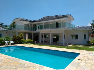Photo for Beachfront Condo - Comfort and security for your family - 250m from the beach