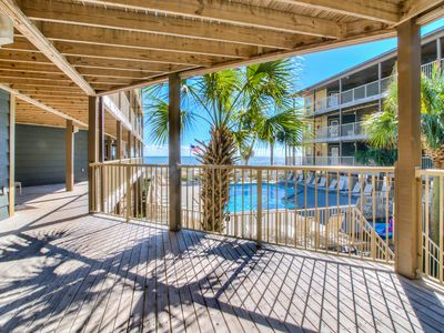 Photo for Sandpiper 5A ~ Enjoy your Beachview through the Palms~Bender Vacation Rentals