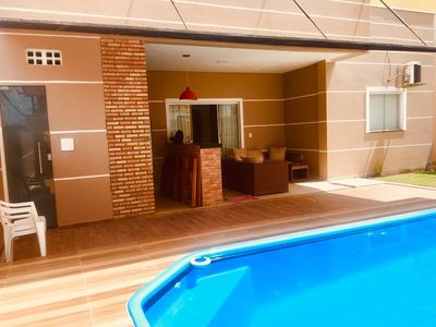 Photo for HOUSE WITH SWIMMING POOL - Large in condominium 300 m2 lot