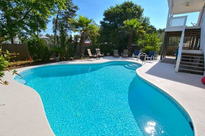 Your own private heated pool!