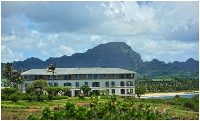 Photo for Oceanfront Resort in Pouipu, Kauai (Timeshare)
