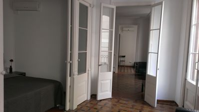 Photo for Large classic old style apartment well distributed