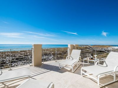 Photo for Gulf and Harbor Views! Gulf Front! Private Beach Access! 2 Community Pools!