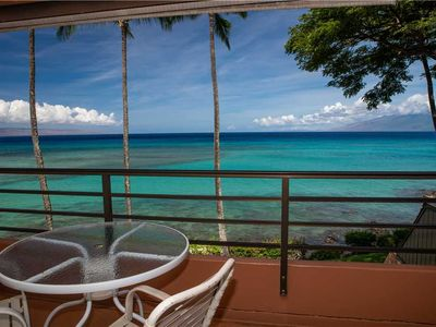 Photo for KUL617 - Upgraded, Top-Floor Ocean Front Unit in Quiet Condo Resort—West Maui—1/BR/1BA