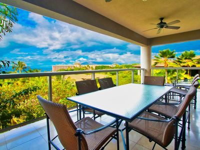 Photo for Hoolei Uni 31-2 Ocean view- ideal Wailea location walking to beaches and shops