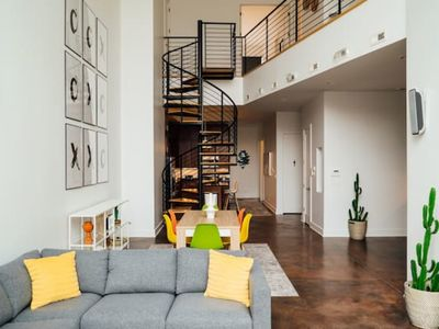 Photo for Fulton Market Stunning Loft Apartment | Netflix | Cubs F1