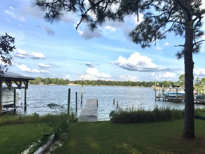 Photo for 3Bd/2Ba Charming Waterfront Cottage with Private Beach/Dock ; Bring your boat!