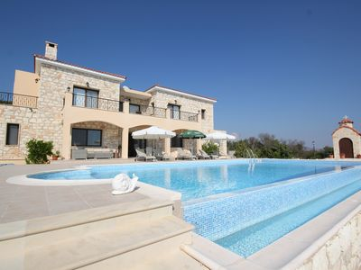 Photo for PANORAMIC VIEW  |  5x12  M INFINITY POOL  | FRUIT GARDEN
