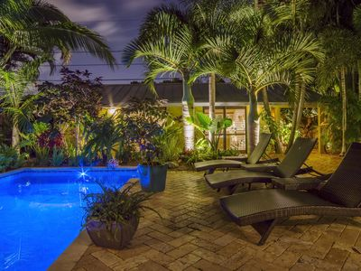 Photo for Luxurious Key West style compound in the heart of Wilton Manors