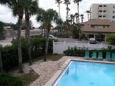Photo for SIESTA SANDS BEACH RESORT - Beachfront Condo complex on Crescent Beach - 1BR