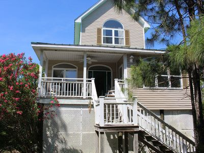 Photo for THE HIDEAWAY is designed with your pleasure in mind. With views of the Apalachicola Bay.
