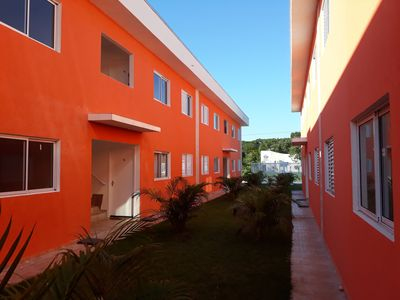Photo for Boracéia - Apt in gated community - 2 bedrooms - 1 garage - 350m from the sea