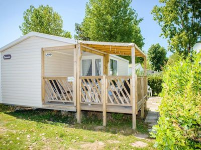 Photo for Camping Le Domaine de Beaulieu **** - Mobil Home Baltic TV 3 Rooms 4/6 People