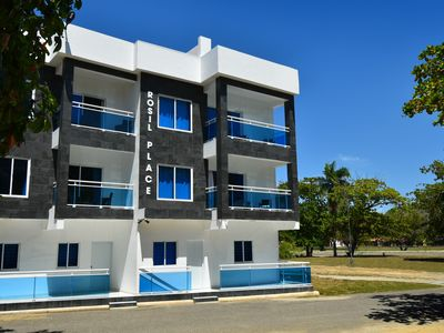 Photo for Rosil Place - Modern Apartment #9 with Balcony & Roof-top Ocean View