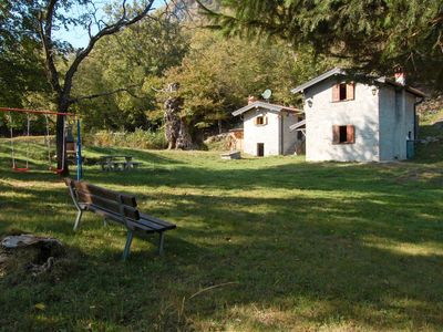 Photo for Vacation home Baita Pidaggia (CZZ150) in Carlazzo - 5 persons, 3 bedrooms