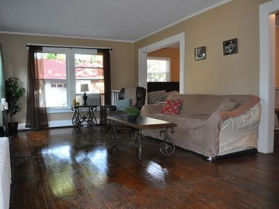 Photo for 4 Queen Sized Beds Located Well to Eat, Sleep, Breathe Downtown Des Moines!
