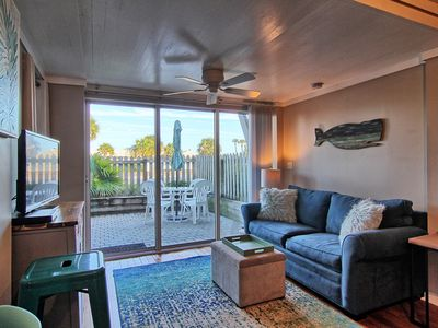 Ground floor condo on S. Fletcher; just steps to the beach.