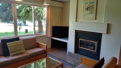 Photo for 2 BR, 2 Story Condo In The Heart Of Stowe. Wifi, Hot Tub, Sauna, In/Outdoor Pool