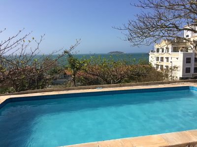 Photo for Spectacular House 50m from Beach / Pool with Sea View
