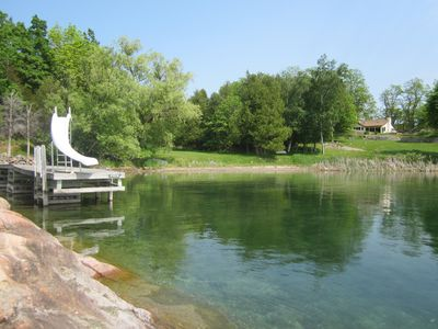 Photo for Enjoy the best of the 1000 islands from this cottage on Grindstone Island