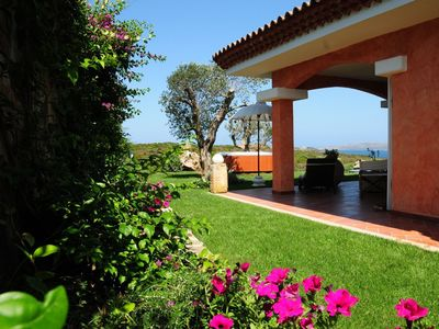 Photo for Luxury Villa with panoramic view over La Maddalena Archipelago