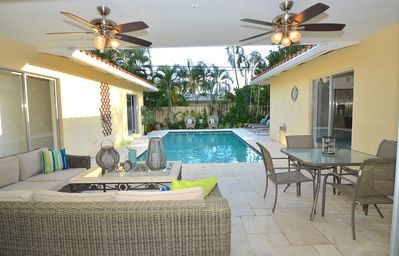 Spectacular Heated Poolside Lounge Offers Absolute Relaxation For Entertaining!