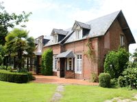 Beautiful farm house surrounded by lovely Normandy countryside.