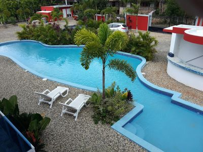 Photo for Guest-Friendly 1-Bedroom Condo in Center Town, Close to the Beach
