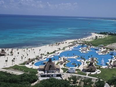 Photo for Mayan Palace, Riviera Maya, Mexico.  2 BR  Master Suite on the ocean.