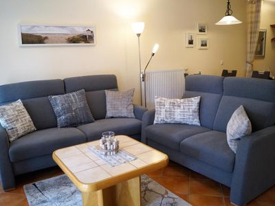 Photo for Tastefully furnished apartment with large south-facing terrace, Wi-Fi connection and parking in an attractive location near the beach