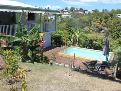 Photo for Villa Verde Bamboo: quiet, pool and beach;