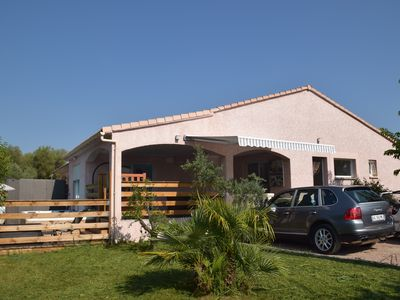 Photo for Very beautiful recent villa with garden, equipped with a swim spa, covered terrace