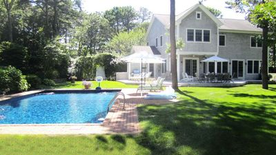 Photo for New Listing: Bright & Comfortable East Hampton Home, w/ Fitness Room, Heated Pool & Tennis