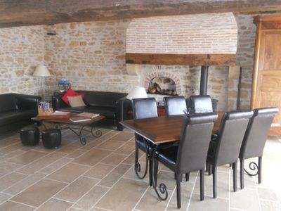 Photo for Cottage 5/7 people between Nièvre and Cher (halfway between Nevers and Bourges)