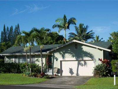 Photo for Private and Tranquil Retreat, Hawaiian Style, Two Bedroom Home