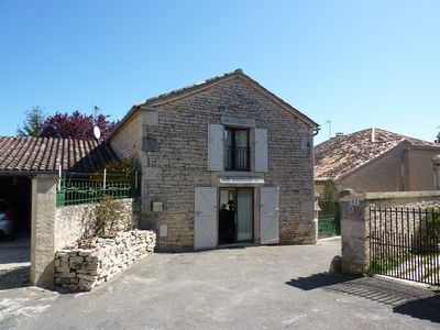 Photo for Stone Village House Lalbenque - Barn completely redone in new -