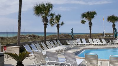 Photo for Great Location - DIRECT GULF VIEWS!! 2 bedroom 2 bath Condo -lower Oct/Nov dates